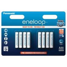 PANASONIC Eneloop R03/AAA 750mAh, 8 Pcs...
