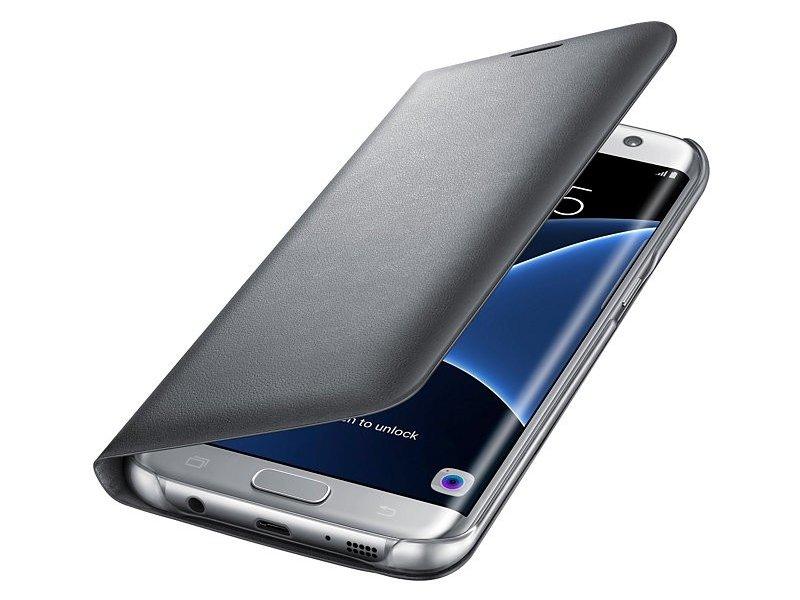51cd3b6badb Samsung LED View cover für Galaxy S7 Edge / G935F silver EF ...