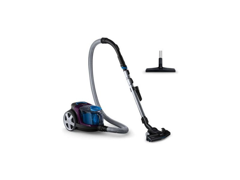 Philips Vacuum cleaner PowerPro Compact FC9333/09 Warranty 24 month(s),  Bagless, Purple, 650 W, 1 5 L, AAA, A, C, A, 79 dB,