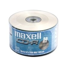 Диски Maxell диск cd-r 700MB 52x spindle 50