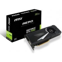 Videokaart MSI GeForce GTX 1080 AERO OC 8GB...