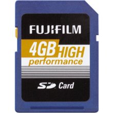 Mälukaart FUJIFILM 4GB SDHC Card High...
