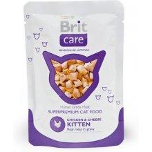 Brit Care Cat Chicken & Cheese KITTEN 80g