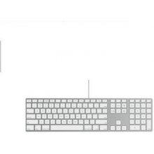 Klaviatuur Apple USB hõbedane