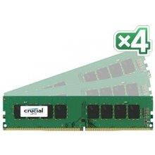 Mälu Crucial 64GB Kit DDR4 2400 MT/s 16GBx4...