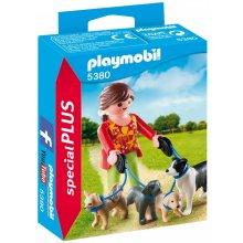 PLAYMOBIL Opiekunka psow 5380