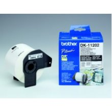 BROTHER DK-11202 Shipping kleepsud valge...