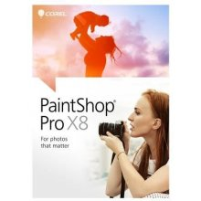 COREL PaintShop Pro X8 Ultimate Win DVD