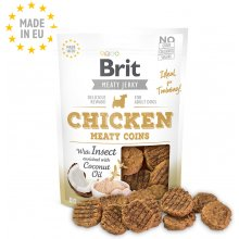 Brit Jerky Chicken with Insect Meaty Coins...