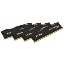 Mälu KINGSTON HyperX FURY 4x8GB 2666MHz DDR4...