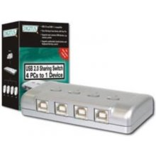DIGITUS USB 2.0 Sharing Switch, 4 PC - 1...