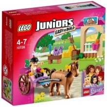 LEGO Juniors Trailer riding Stephanie