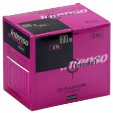 Диски INTENSO 1x10 CD-R 90 / 800MB...
