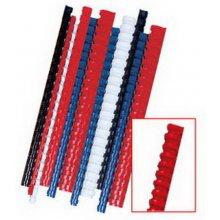 FELLOWES Köitespiraalid, 8mm, punane, 100tk