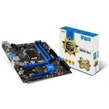 Emaplaat MSI B85M-G43, DDR3-SDRAM, SO-DIMM...