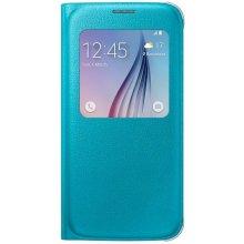 Samsung S-View чехол PU für S6 синий