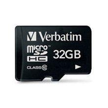 Флешка Verbatim MICRO SDHC CARD 32GB CLASS10