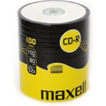 Диски Maxell диск cd-r 700MB 52x spindle100