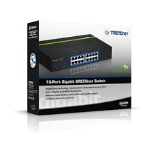TRENDNET Switch 16-Port Gbit GREENnet...