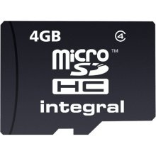 Флешка INTEGRAL MICROSDHC 4GB WITHOUT...