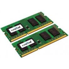 Mälu Crucial 16GB DDR3 1600MHz SO-DIMM Kit...