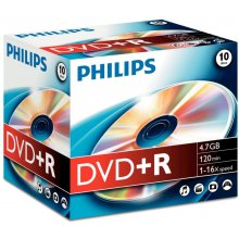 Диски Philips DVD+R 4.7GB 16X