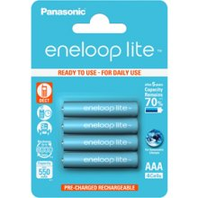 PANASONIC BK-4LCCE-4BE AAA/HR03, 550 mAh...