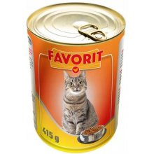 FAVORIT cat can poultry 415g