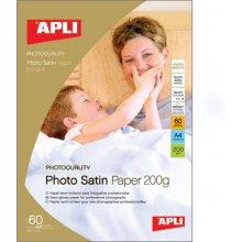Apli Fotopaber Satin A4 200g/m2, 20 lehte...