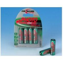 Ansmann 1x4 NiMH rech. батарея Mignon AA...