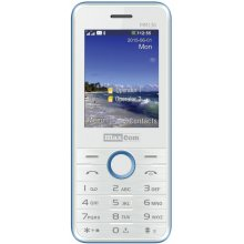 MaxCom MM 136 Dual SIM GSM Phone White-Blue