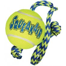 Kong AIR SQUEAKAIR TENNIS BALL koos ROPE M...