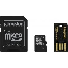 Флешка KINGSTON 16GB microSDHC Mobility Kit