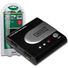 DIGITUS HDMI 2 port mini splitter 1080p...