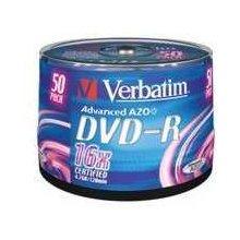 Toorikud Verbatim DVD-R [ 50pcs, 4.7GB, 16x...