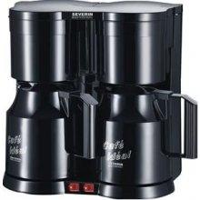 Kohvimasin SEVERIN Coffe maker duo black KA...