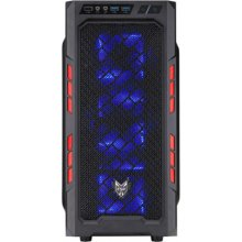 Fortron Chasis CMT210-RED, USB 3.0, 2 x Blue...