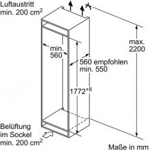Холодильник SIEMENS KI87SAD30 (EEK: A++)