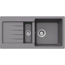 Teka Kea 60 B-TG Metalic Alu minium sink