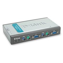 D-LINK DKVM-4K 4-Port KVM-Switch PS2 retail