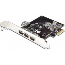 DIGITUS PCI Expr Card 3x Firewire400 ext...