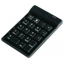 Klaviatuur KeySonic ACK 118 BK Numeric...