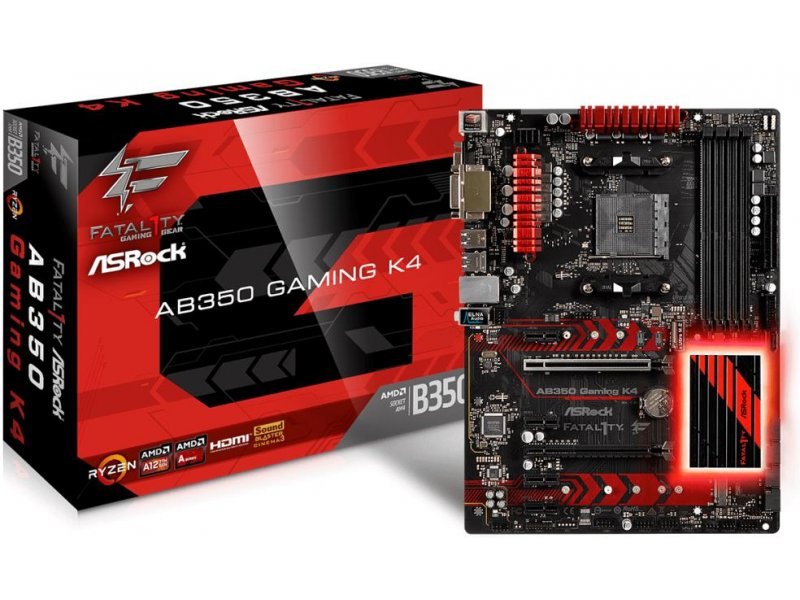 ASRock Mainboard | | AMD B350 | SAM4 | ATX | 4xPCI-Express 2 0 1x |  2xPCI-Express 3 0 16x | 1xM 2 | Memory DDR4 | Memory slots 4 | 1x15pin  D-sub |