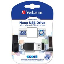 Флешка Verbatim Store n Stay Nano 16GB USB...