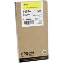 Тонер Epson T6534 жёлтый чернила CARTR