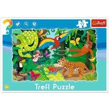 TREFL 15 EL. рамка tropical forest