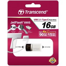 Флешка Transcend JetFlash 890S 16GB OTG USB...