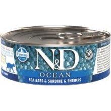 Farmina N&D OCEAN Sea Bass, Sardine &...