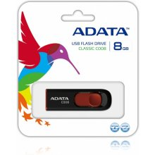 Флешка ADATA USB 2.0 Stick C008 Black/Red...