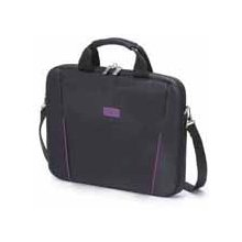 Dicota Slim Case Base 14 - 15.6 black purple...